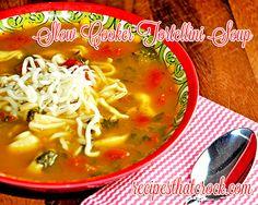 Slow Cooker Tortellini Soup - Recipes That Crock!