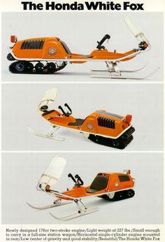 .The Honda White Fox