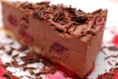 Sernik mrożony czekoladowo - kawowy