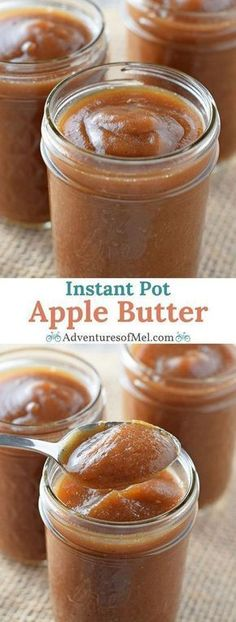 Instant Pot Apple Bu
