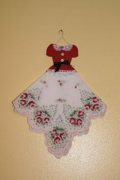 Mini hankie dress...I saw some of these at the Antique Mall Monday!!!