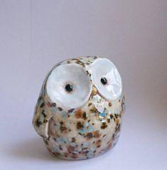 Handmade in Kansas: Rocky the Owl Bank, $15