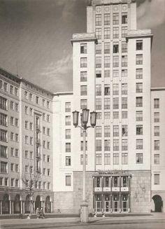 Hermann Henselmann, Haus des Kindes am Strausberger Platz, 1951-53