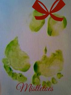 This craft was so much fun and I now have a holiday keepsake for years to come. What you need: a small canvas green fingerpaint red marker or paint paper plate your kids feet  Directions: pla...