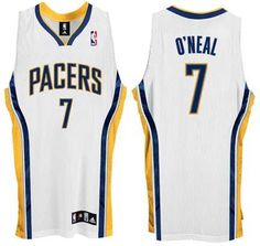Jermaine O'Neal Indiana Pacers Authentic Adidas NBA Basketball Jersey (Home White) Jermaine O'neal, Nba Merchandise, Adidas Nba, Indiana Pacers, Basketball Jersey, All Star, Sports, Armors, Star