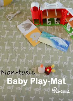 Non toxic safe play mats for baby
