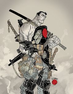 VALIANT COMICS - Bloodshot Cover   Flickr - Photo Sharing!