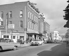 Bennington, Vermont, 1960s.~ kinda of how I still see it in my mind's eye