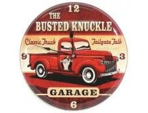 Busted Knuckle Old Truck Clock