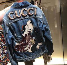 StyledbyJovon fashion fashionable fashionista instafashion fashionstyle fashionaddict fashiondiaries fashiondesigner… is part of Gucci denim - Jeans Gucci, Gucci Gucci, Gucci Jacket Mens, Gucci Outfits, Fashion Outfits, Customised Denim Jacket, Denim Jacket Patches, Mode Jeans, Jean Jackets