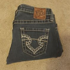 Big Star Jeans Maddie Boot Mid Rise. Size 27 R Mid Rise  Inseam 29 1/2 . In excellent condition! ! Big Star Jeans Boot Cut