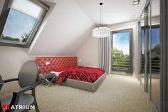 Wnętrze projektu Polo - wizualizacja 4 Minimal House Design, Simple House Design, Minimal Home, Home Building Design, Building A House, Design Case, Home Fashion, Bungalow, Minimalism