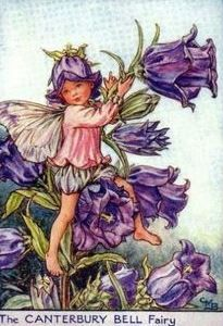 Cicely Mary Barker | The Canterbury Bell Fairy