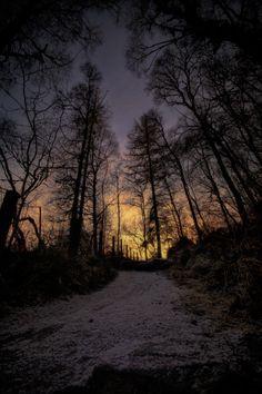 Setting Sun by Fraser Hetherington