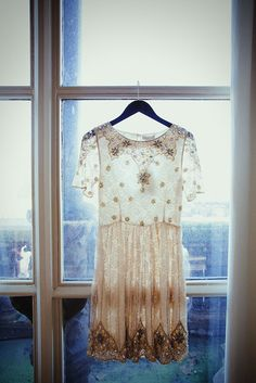 10 Beaded Bridesmaid Dresses that We Love on @intimatewedding  Photo by @lovemydressblog #beadeddress #weddingdress #bridesmaiddress
