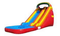 Jumporange Rainbow Titan Wet/Dry Commercial Grade Inflatable Water Slide