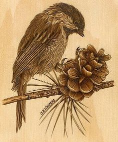 Free Printable Wood-Burning Patterns | by Sue Walters | pyrography ...