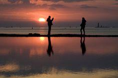 Saint-Malo : une photo au coucher de soleil | Flickr: Intercambio de fotos