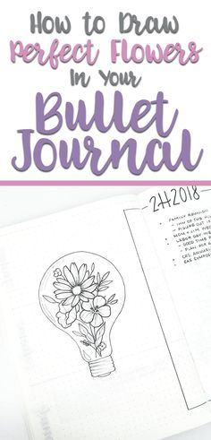 art diy How to draw flower doodles for your bullet journal spreads. Learn how to create step-by-step floral doodles that are easy and super pretty for any bujo spread. Doodling journal ideas, easy flower doodles, ideas for doodles in your bullet journal. Easy Flower Drawings, Flower Drawing Tutorials, Easy Drawings, Drawing Tips, Drawing Ideas, Drawing Drawing, Flower Art Drawing, Pretty Drawings, Bullet Journal Décoration