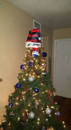 New England Patriots Christmas Tree Decorations