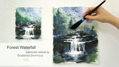 Follow me while painting a summer waterfall! We will paint using Alla Prima technique – creating a painting at the first attempt. Colors: French Ultramarine,...