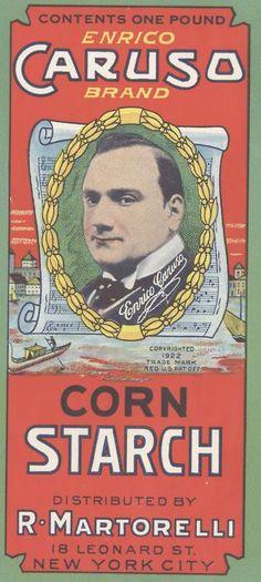 Enrico Caruso Cornstarch