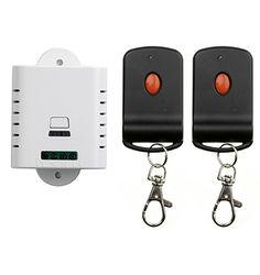 >> Click to Buy << 85V 110V 120V 220V 250V 1CH RF Wireless Remote Control Switch System 2 transmitter & 1 receiver relay Receiver Smart Home Switch #Affiliate