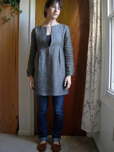 Schoolhouse Tunic by sarawallacemack, via Flickr