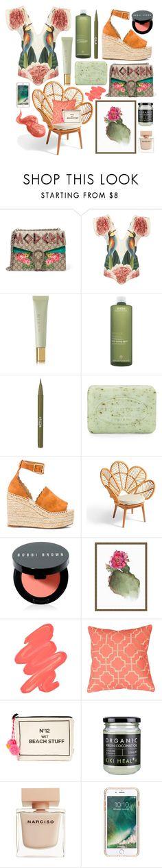 """Modern"" by cherieaustin on Polyvore featuring Gucci, Carolina K, AERIN, Aveda, Stila, Pré de Provence, Chloé, Grandin Road, Bobbi Brown Cosmetics and Pottery Barn"