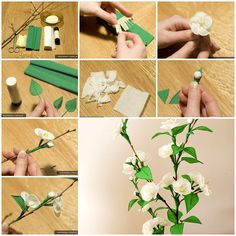 Crepe paper flowers look like natural flowers but last longer and won't wilt or droop. That's why they are very popular for decoration.With the spring season in full bloom, let's make some crepe paper flowers to energize our spring mood. There are a variety of creative ways to make beautiful …