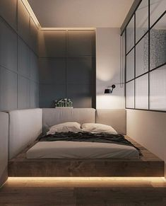 Trendy Bedroom Design For Couples Apartment Beds 56 Ideas Design Apartment, Apartment Interior, Bedroom Apartment, Home Bedroom, Modern Bedroom, Bedroom Furniture, Trendy Bedroom, Bedroom Ideas For Couples Grey, Couple Bedroom