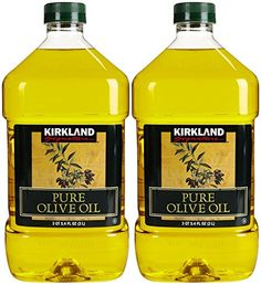 Kirkland Signature Kirkland Pure Olive Oil, 2 Count -- Check out this great image @ : Dinner Ingredients