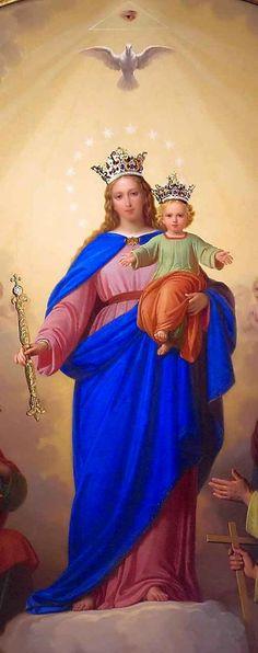 Jesus Fonte de Luz: NOSSA SENHORA AUXILIADORA, VENCEDORA DO ISLAMISMO