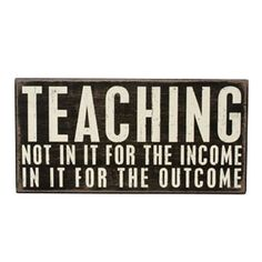 """There is no """"income"""" when you are homeschooling, but definitely in it for the best outcome for our children. :)"""
