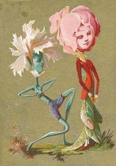 Architecture Art Design, French Flowers, Vintage Drawing, Vintage Illustration Art, Funky Art, Weird Art, Freelance Illustrator, Whimsical Art, Surreal Art