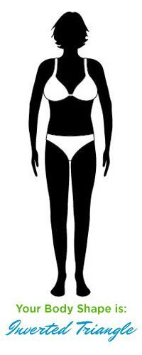 to Dress an Inverted triangle Body Type