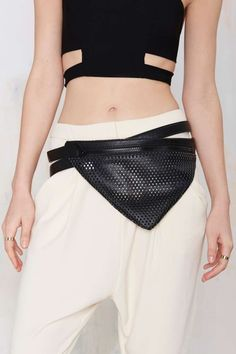 Nasty Gal x Nila Anthony On Point Vegan Leather Belt Bag | Shop Accessories at Nasty Gal!