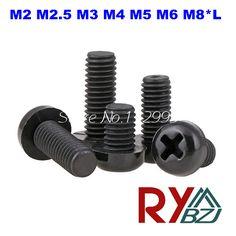 $4.50 (Buy here: https://alitems.com/g/1e8d114494ebda23ff8b16525dc3e8/?i=5&ulp=https%3A%2F%2Fwww.aliexpress.com%2Fitem%2FM2-12-Nylon-screws-Phillips-Round-Head-Machine-Screws-Pan-head-screws-Nylon-DIN7985-M2-L%2F32664040397.html ) M2 M2.5 M3 M4 M5 M6 M8*L Nylon screws DIN7985 Round Head Phillips Machine Screws black color for just $4.50