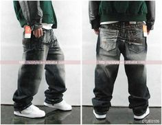 Hip+Attire | hottest hip hop jeans fashion jeans hiphop style