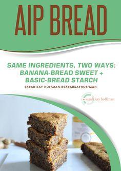 AIP Bread Recipe e-book via sarahkayhoffman.com