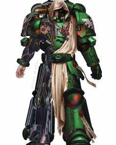 Warhammer Art, Warhammer Models, Warhammer 40000, Sci Fi Tv Series, Imperial Fist, Dark Angels, Space Marine, Gw, Artwork