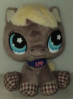 Littlest Pet Shop VIPs Horse Plush Stuffed Animal 65040 Virtual Interactive Pets  - This Item is for sale at LB General Store http://stores.ebay.com/LB-General-Store