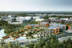 Research Triangle Park Masterplan < Projects | Grimshaw Architects