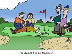 Do you mind if we play through...? #playgolf #SuccedingAtGolf