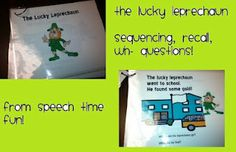 The Lucky Leprechaun -  Pinned by @PediaStaff – Please Visit http://ht.ly/63sNt for all our pediatric therapy pins