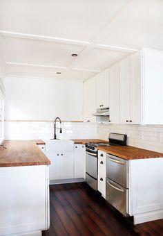 smitten studio // sarah sherman samuel » Blog Archive » cabin progress: kitchen plate rail