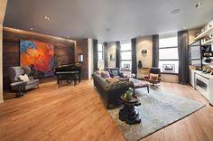 John Legend's living room