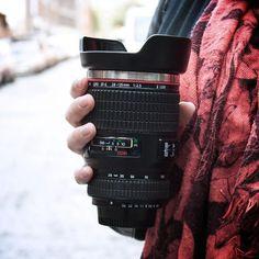 Camera Lens Travel Mug at Firebox.com