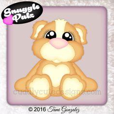 Snuggle Palz Guinea Pig