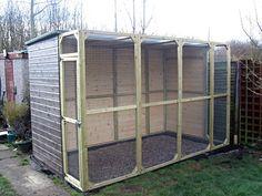 build a bird aviary